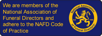 Members of the National Association of Funeral Directors, NAFD in Bolton - Ethical Funerals
